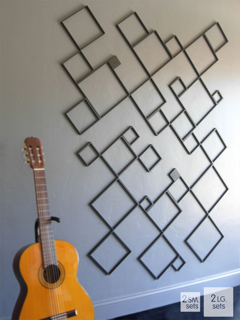 Wallter - Squares Wall Application modern-wall-decals