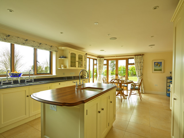 Guildford painted kitchen tropical-kitchen