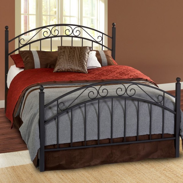 Willow Metal Bed Multicolor - HL1558 contemporary-beds