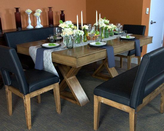 Helmsley Poker Dining Set -