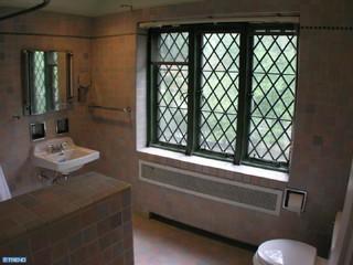 Tudor revival bathroom for Tudor bathroom design