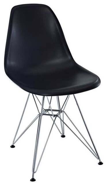 Paris Dining Side Chair in Black modern-dining-chairs