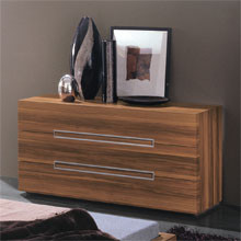 Gap 3 Drawer Dresser By Rossetto modern dressers chests and bedroom armoires