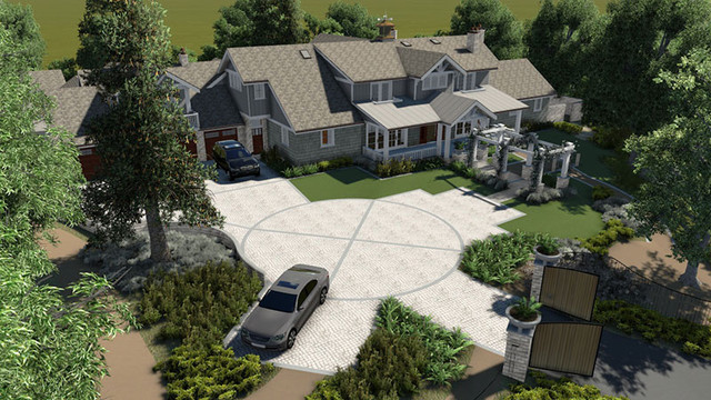 Conceptual 3D Renderings traditional