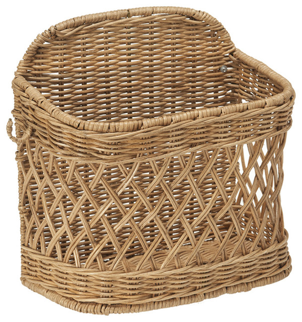 Image Result For Wall Mounted Wicker Baskets