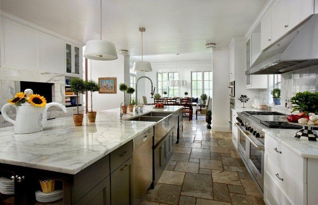 Sheridan Road Residence contemporary-kitchen