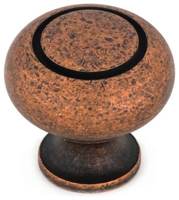 Cliffside Industries 110-OC Cabinet Knob - Artisan Series - Old Copper Finish - craftsman-cabinet-and-drawer-knobs