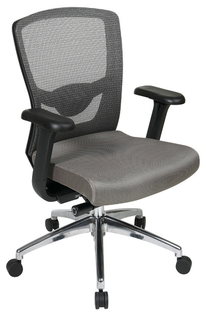 gray high back office chair modern task chairs atlanta by