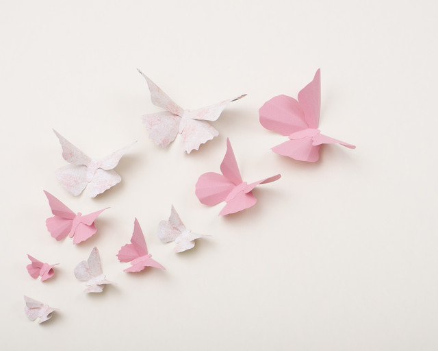 3d butterfly wall art eclectic nursery decor for 3d wall butterfly decoration