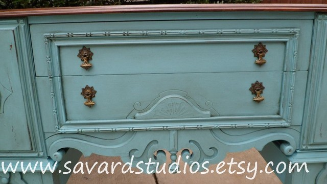 Hand Painted Furniture - Eclectic - Buffets And Sideboards - charlotte - by Painting the Town, Inc.
