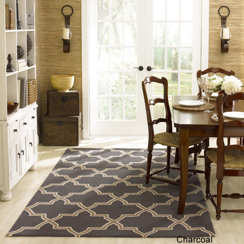 Need help coordinating area rugs for my open concept living / dining room.