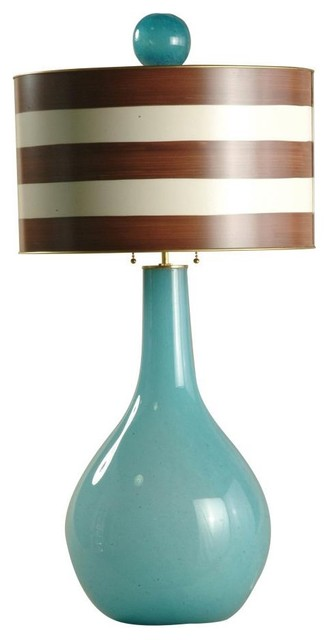 Stray Dog Designs Titan Glass Lamp traditional-table-lamps