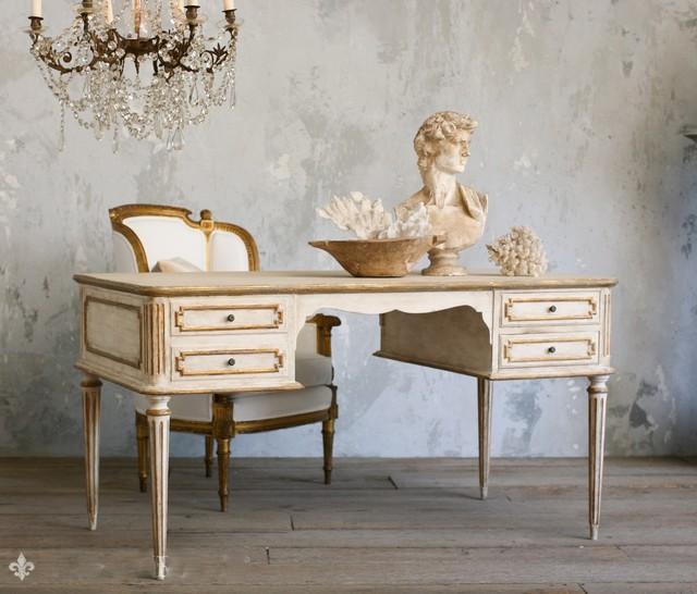 Showroom of Dasan Interiors Inc eclectic-desks
