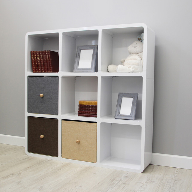 Square Nine Cube Bookcase - Contemporary - Bookcases - south east - by ...