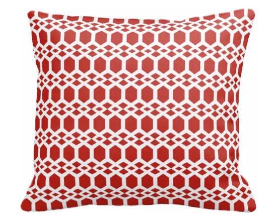 PURE Inspired Design - Smock Organic Pillow Cover, Orange/Natural, 18 X 12 - Collection:  PURE Beach