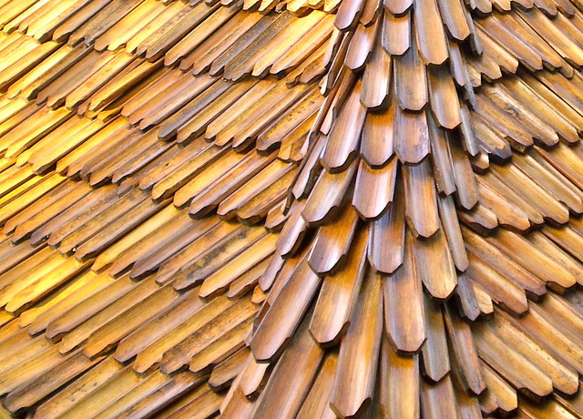 Bamboo Roof Shingles Handmade In Bali Asian Other
