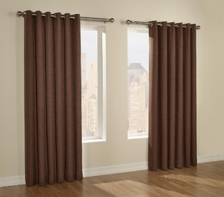 Discount Grommet Drapes - Traditional - Curtains - los angeles - by GetBlinds.com
