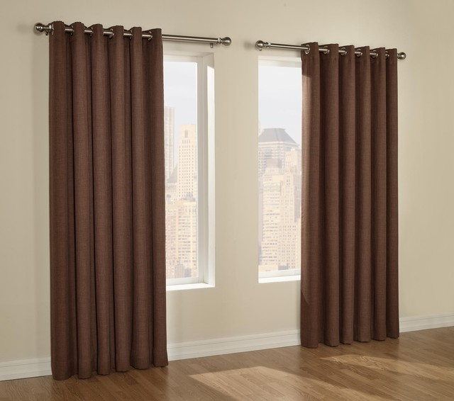 Discount Grommet Drapes traditional-curtains