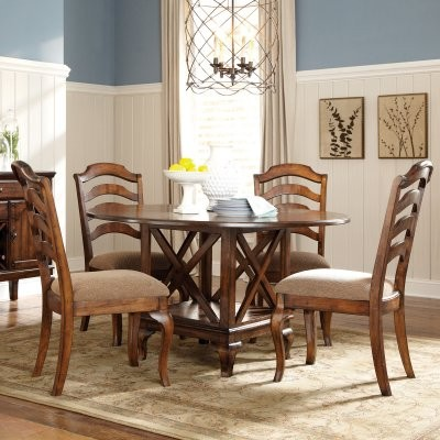 Standard Furniture Crossroad 5 Piece Round Dining Table Set modern-dining-tables