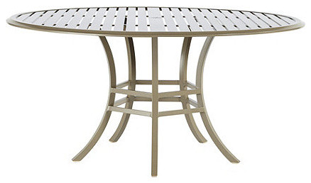 St Lucia 60 Inch Round Dining Table traditional-dining-tables