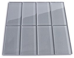 Glass Subway Tile Products modern kitchen tile