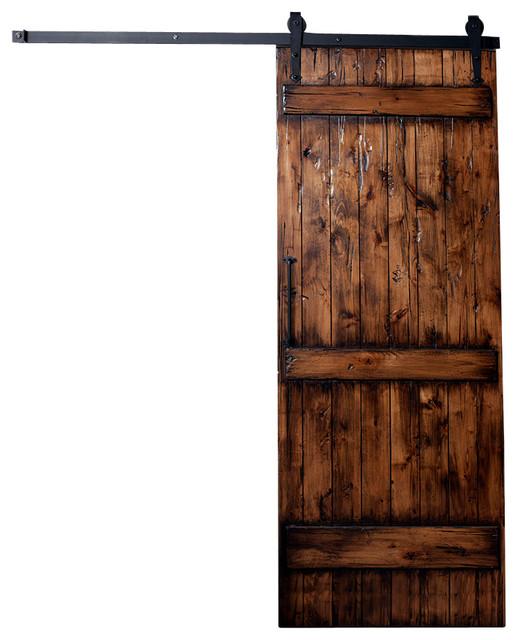 Rustic Ranch Interior Design: Ranch Barn Door Kit, Distressed