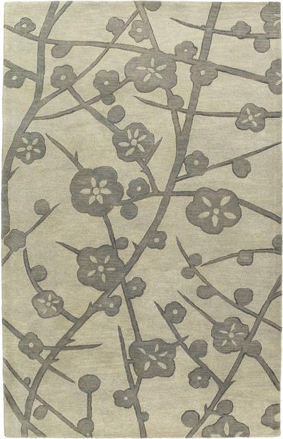 Kaleen Calais Briarwood 8' x 11' Graphite Rug contemporary-rugs