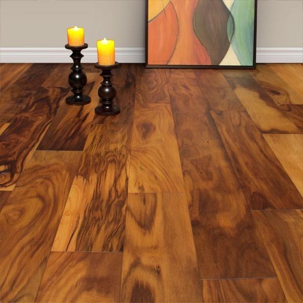 Free Samples of 7 Natural Acacia Oiled Engineered hardwood flooring modern wood flooring