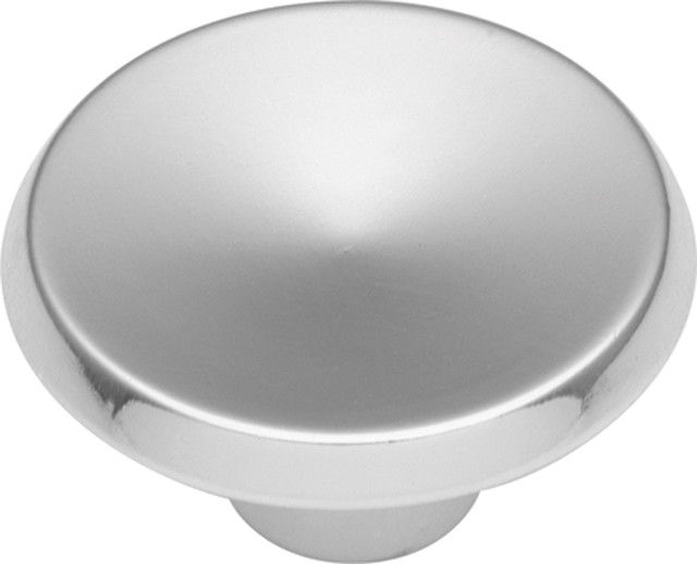"""Sunnyside Polished Chrome Cabinet Knob, 1.5"""" traditional-cabinet-and-drawer-knobs"""