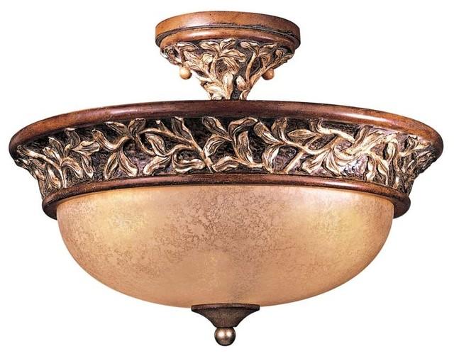 Salon Grand 3-lt Semi Flush Mount - modern - ceiling lighting - by ...