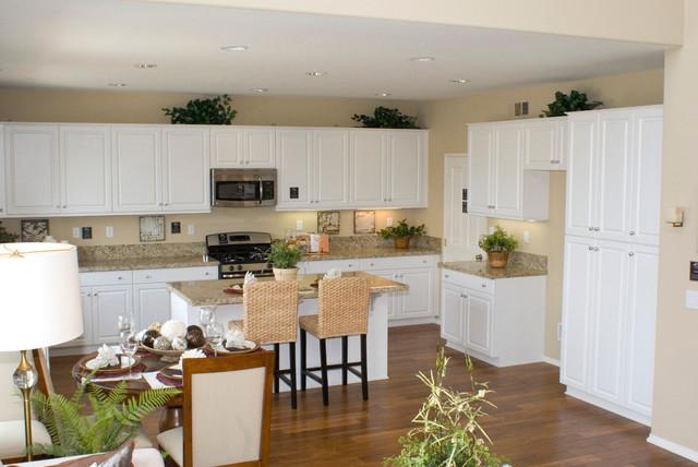 Kitchen Cabinets in Phoenix PCS Hamilton White with BN Standard Knobs ...