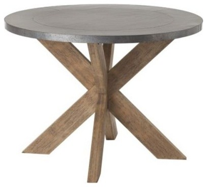 Base Round Dining Table Eclectic Dining Tables By Clayton Gray
