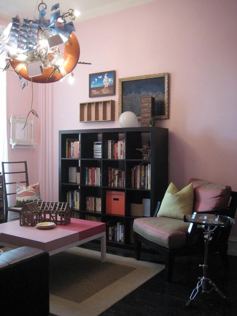 Arts Salon 1 eclectic-living-room