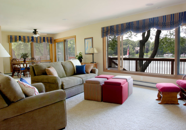 Mauer - Whole House Remodel contemporary-living-room