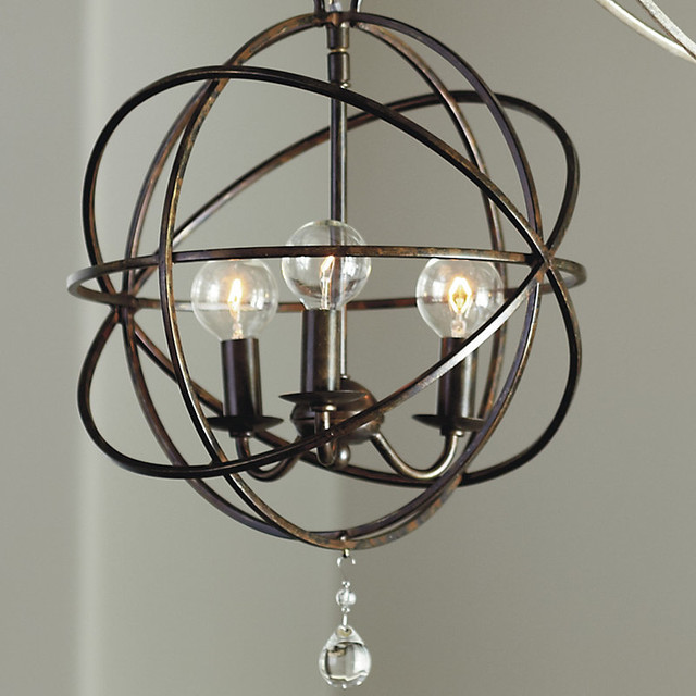 Orb Petite Chandelier traditional-chandeliers