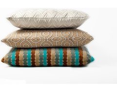Stacks modern pillows