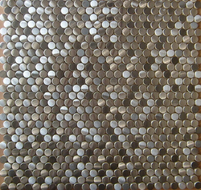 how to clean penny round tiles