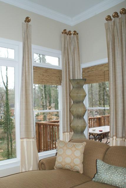 Window treatments traditional window treatments for International decor window treatments