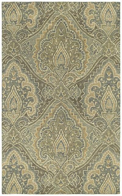 Contemporary Magi 2'x3' Rectangle Graphite Area Rug contemporary-rugs