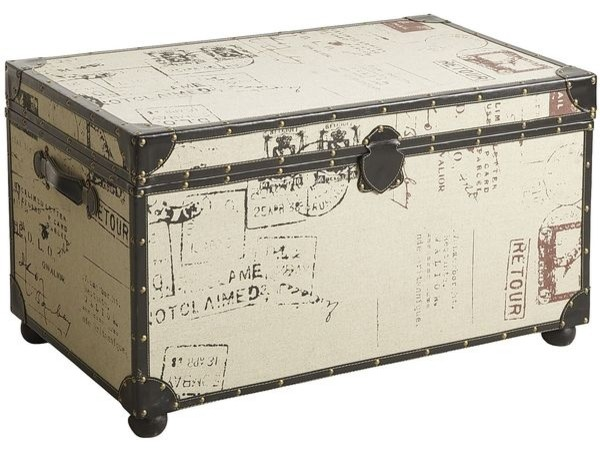 Rhodes trunk traditional decorative trunks by pier 1 - Decorative trunks and boxes ...