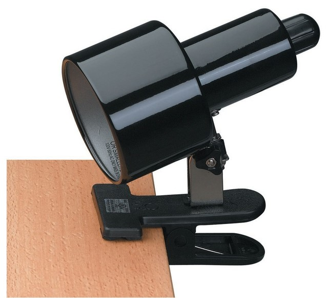 clip on clamp on lamp transitional desk lamps by lighting front. Black Bedroom Furniture Sets. Home Design Ideas
