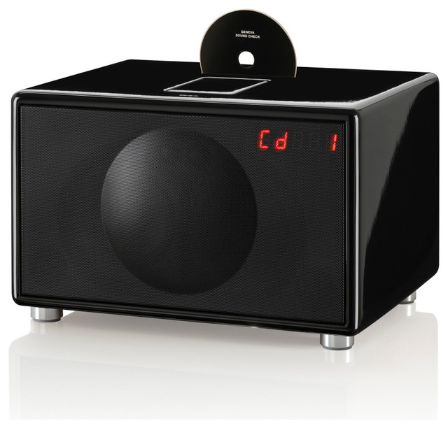 Large All-in-One Hi-Fi for CD, iPod, iPhone and Radio ...