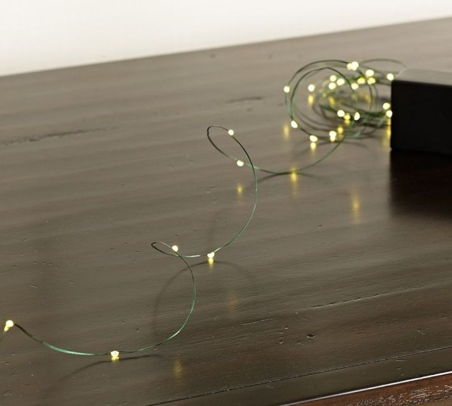 Small Led Lights : Mini LED String Lights - Contemporary - Home Decor - by Pottery Barn