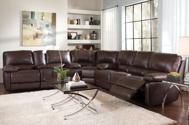 reclining sectional contemporary sectional sofas other metro by big box furniture company. Black Bedroom Furniture Sets. Home Design Ideas