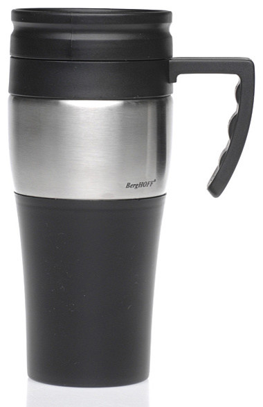 Solid 16-oz Travel Mug contemporary-mugs
