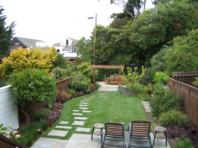 Cole valley traditional san francisco by outer space for Outer space landscape architects adelaide