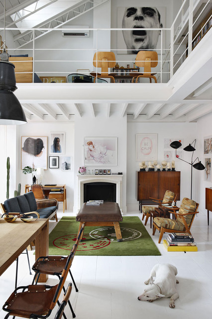 The Madrid Home of David Delfin and Gorka Postigo Yatzer | Apartment Therapy San modern