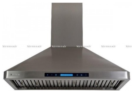 """PX02-W30 30"""" Chimney Style Wall Mount Ducted Range Hood With 900 CFM  4 Speed He contemporary-range-hoods-and-vents"""
