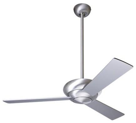 "Modern Fan Altus Ceiling Fan - 42"" Brushed Aluminum contemporary-ceiling-fans"