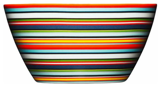 Origo Bowl, Orange contemporary-dining-bowls